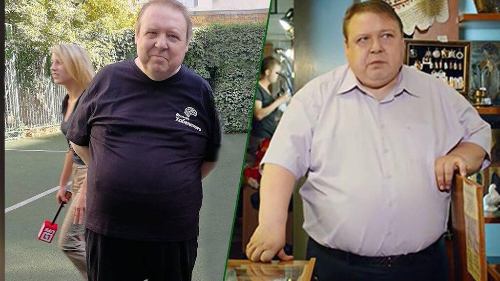 Олександр Семчев схуд на 40 кг без допомоги дієтологів