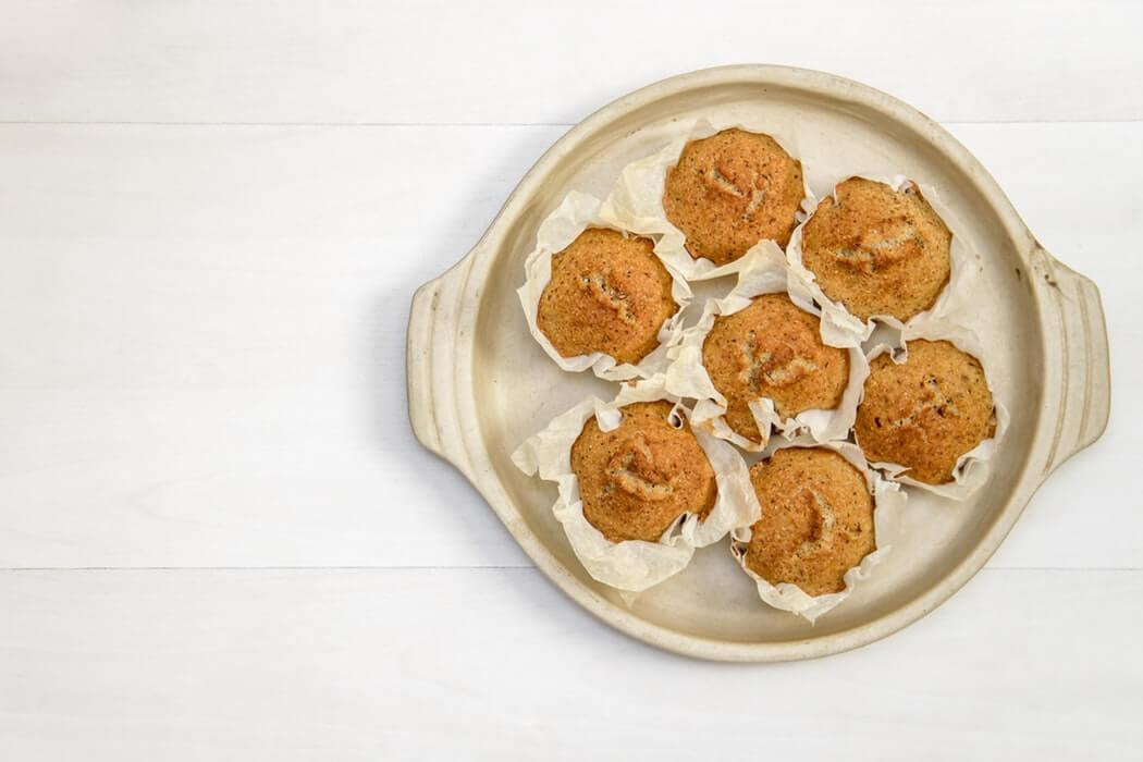 Ароматні дієтичне кекси з гарбузом