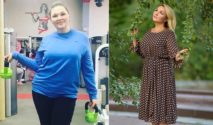 Надія Ангарська схудла на 35 кг за 7 місяців
