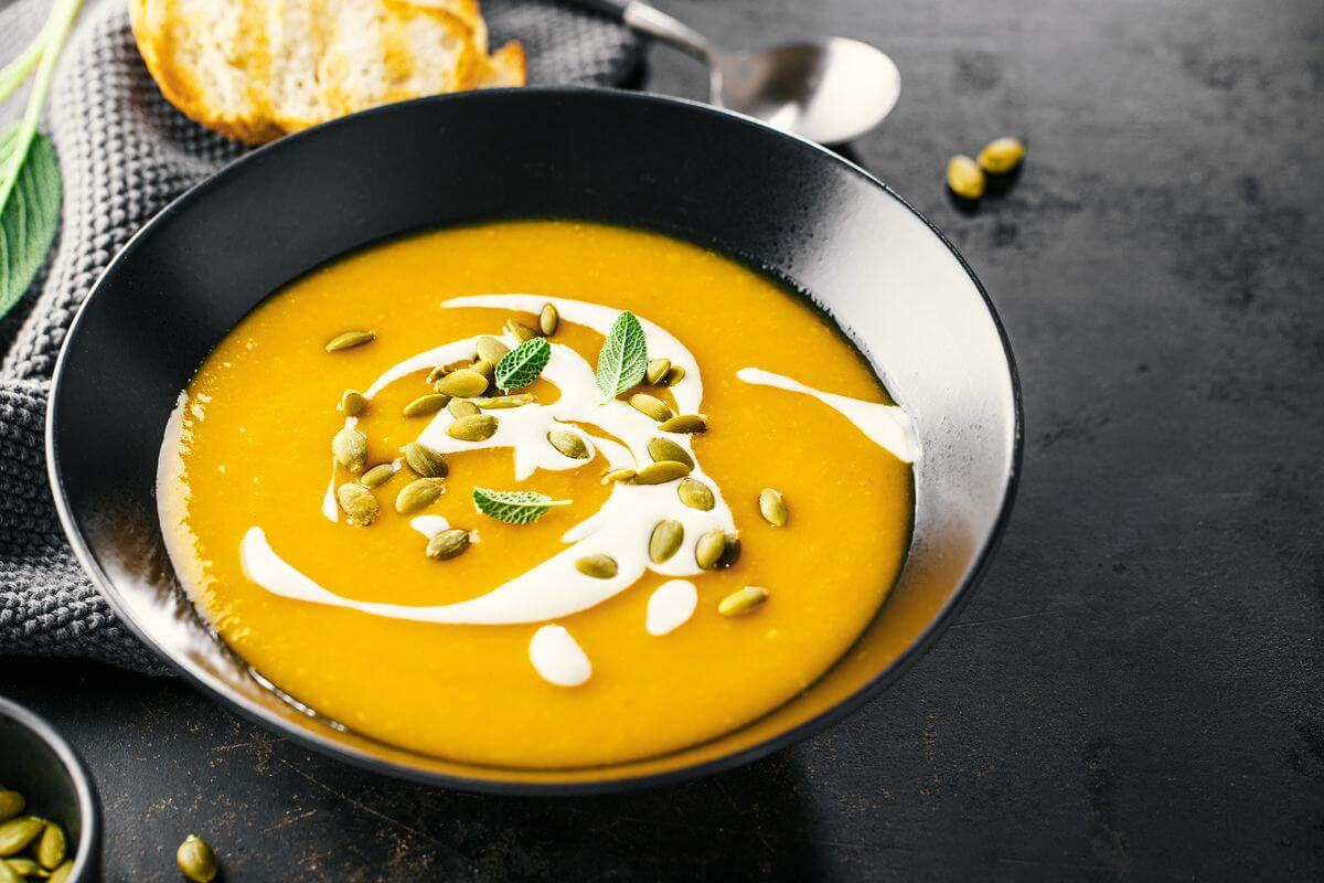 Розвантажувальний день на гарбузовій супі — мінус 2 кг за ніч